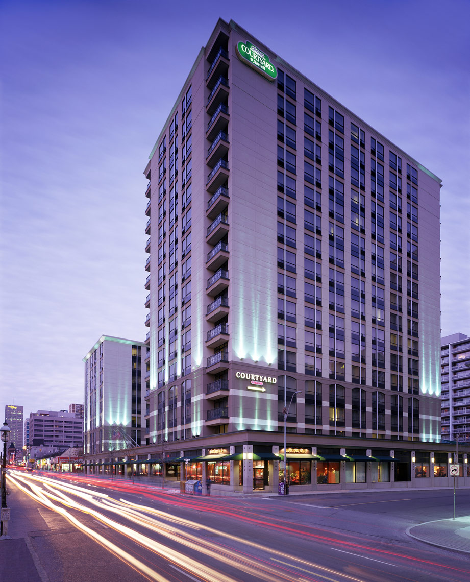 Architectural-Hospitality-Hotel-Courtyard-Marriott-Toronto