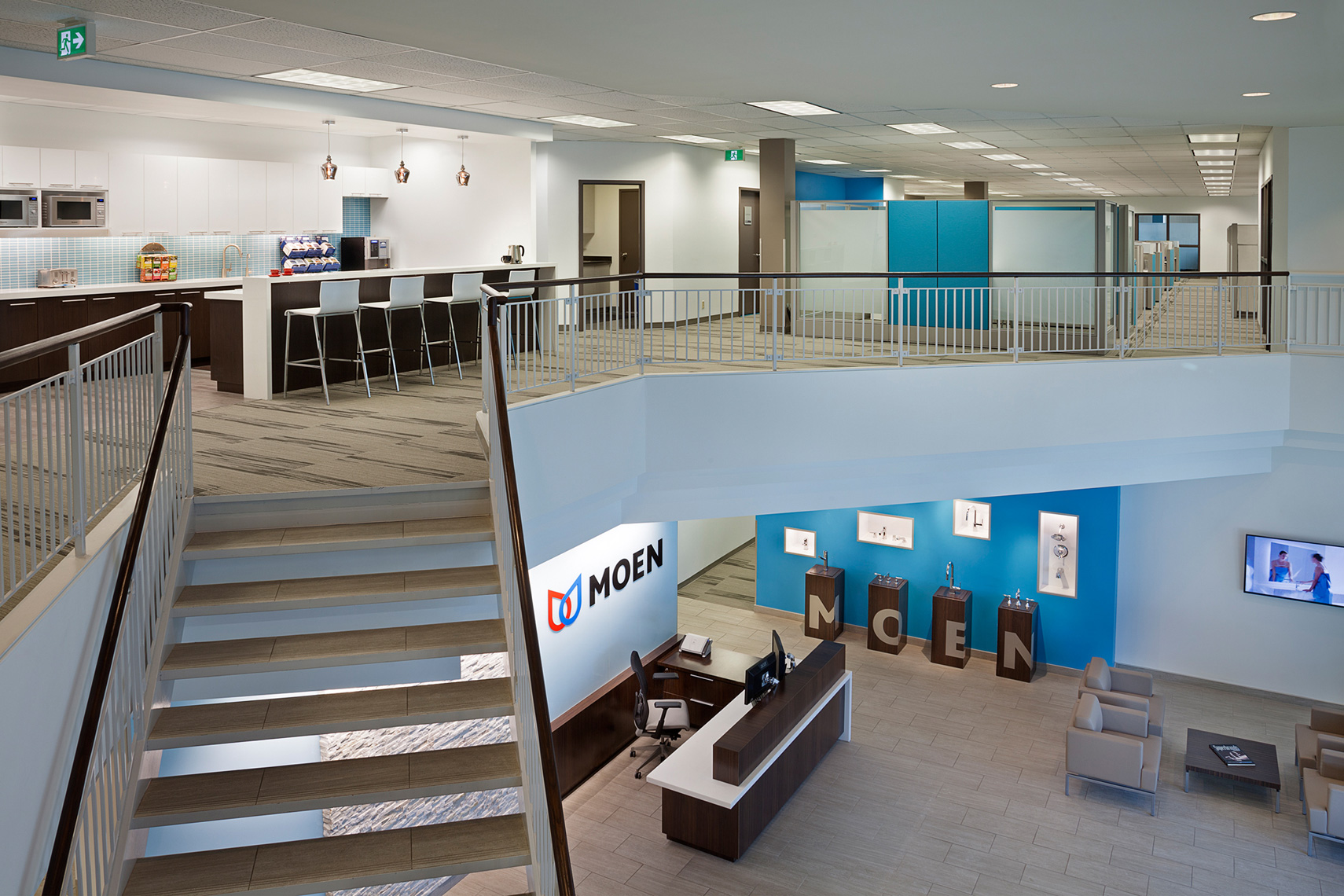 MOEN Offices by  Intercede Facility Management